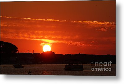 Sunrise 7547 Metal Print by Chuck Smith