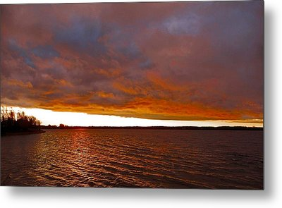 Sunrise At Ile-bizard ...  Metal Print by Juergen Weiss