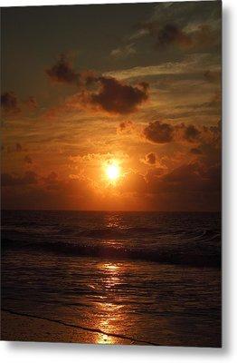 Sunrise At Myrtle Beach South Carolina Metal Print