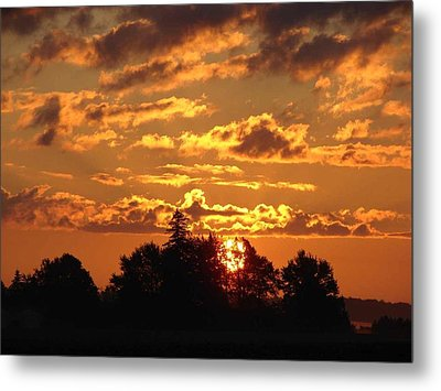 Sunrise At Ravenswood Metal Print by Bruce Ritchie