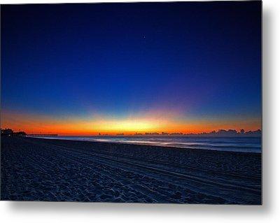 Sunrise At The Beach IIi Metal Print
