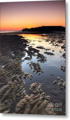 Sunrise At Trow Rocks Metal Print by Ray Pritchard