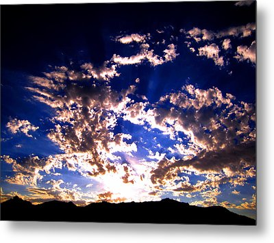 Sunrise Metal Print by Catherine Natalia  Roche