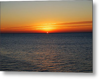 Sunrise Dawning A New Day Metal Print