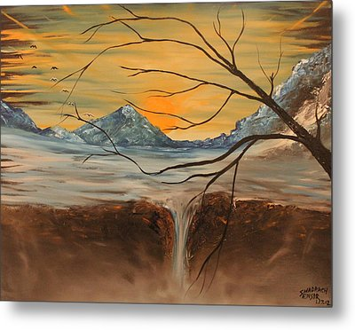 Sunrise End Metal Print by Shadrach Ensor