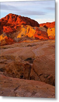 Sunrise Ignition Metal Print by James Marvin Phelps