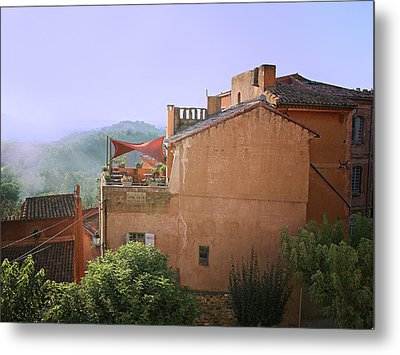 Sunrise In Roussillon Metal Print by Sandra Anderson