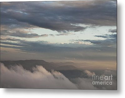 Sunrise In The Mountains Metal Print by Jeannette Hunt