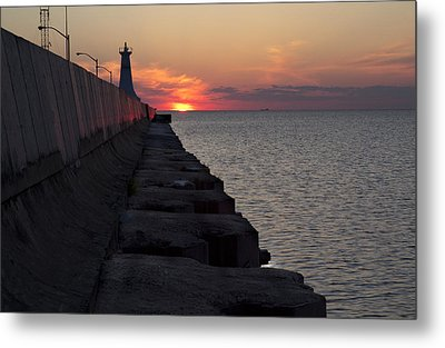 Metal Print featuring the photograph Sunrise by Nick Mares