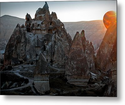 Sunrise Over Cappadocia Metal Print by RicardMN Photography