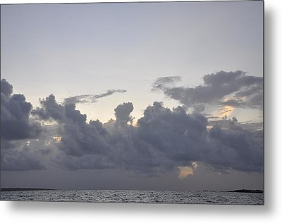 Sunrise Over Orient Bay Metal Print by Dottie Branchreeves