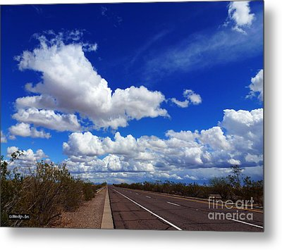 Sunrise Parkway Metal Print by Methune Hively