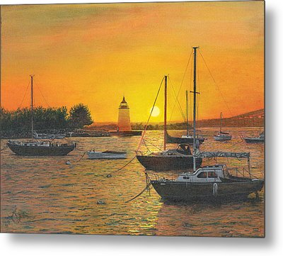 Sunrise Sunset Metal Print by Stuart B Yaeger