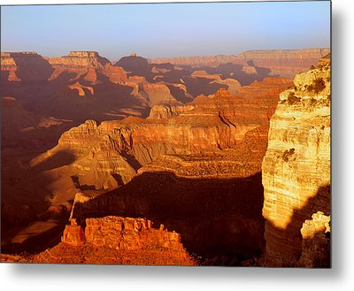 Metal Print featuring the photograph sunset at Grand by Rima Biswas