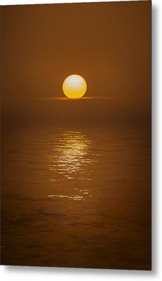 Sunset At Hoopers Point Metal Print by Andy Astbury