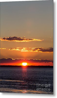 Sunset At Indian River 3 Metal Print