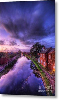 Sunset At Loughborough Metal Print by Yhun Suarez