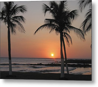 Metal Print featuring the photograph Sunset by David Gleeson