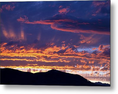 Sunset Metal Print by David R Frazier and Photo Researchers