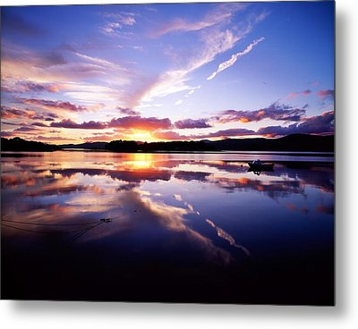 Sunset, Dinish Island Kenmare Bay Metal Print by The Irish Image Collection