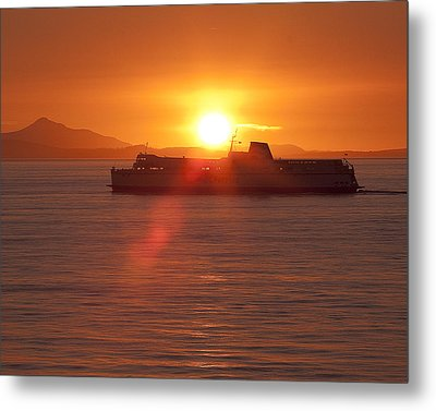 Metal Print featuring the photograph Sunset by Eunice Gibb