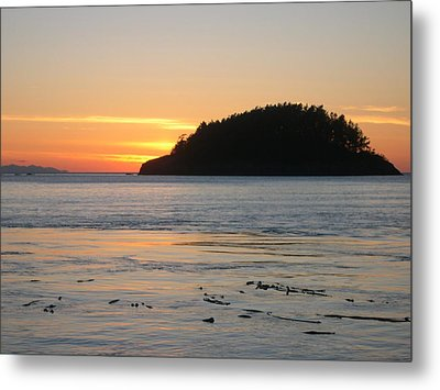 Sunset From Deception Pass Metal Print