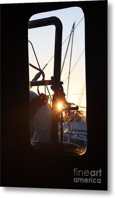 Metal Print featuring the photograph Sunset In Holland by Rogerio Mariani
