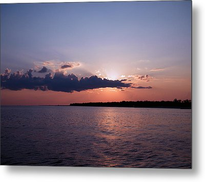 Metal Print featuring the photograph Sunset In The Pass by Brian Wright