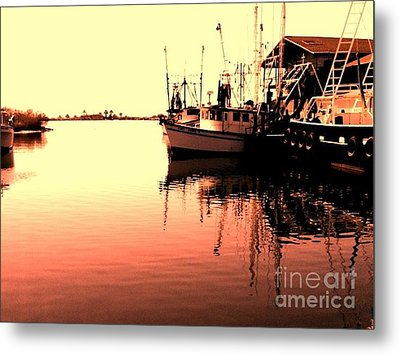 Metal Print featuring the photograph Sunset by Janice Spivey