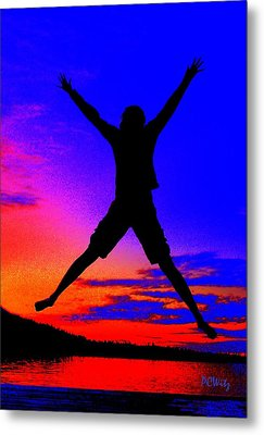 Metal Print featuring the photograph Sunset Jubilation by Patrick Witz