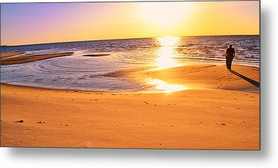 Metal Print featuring the photograph Sunset by Kelly Reber