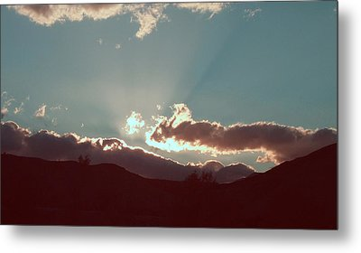 Sunset Metal Print by Naxart Studio