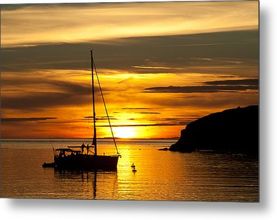 Sunset On Bowman Bay Metal Print