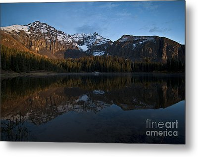 Sunset On The Mountains Metal Print by Jeff Kolker
