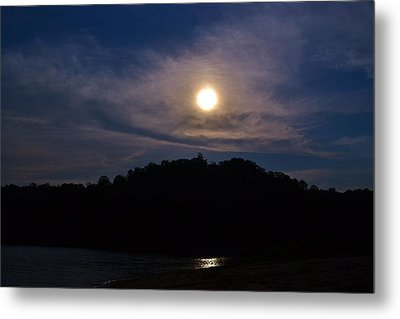 Sunset Over Lake Lanier Ga Metal Print by Marc Mesa