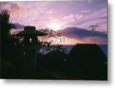 Metal Print featuring the photograph Sunset Pupukea Oahu by Craig Wood