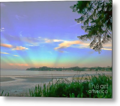 Sunset Rays Metal Print