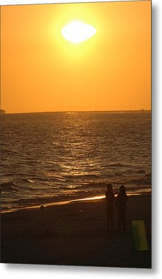 Sunset Metal Print by Ronald T Williams
