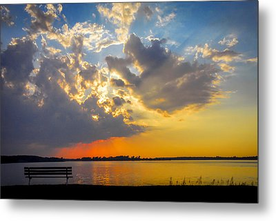 Sunset Metal Print by Travis MacDonald