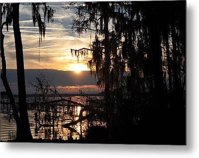 Sunset View Metal Print by Tiffney Heaning