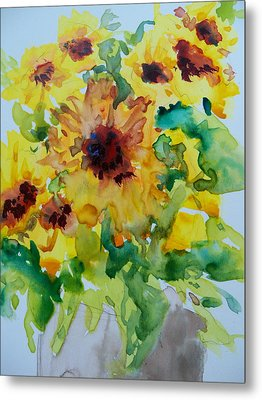 Sunshine Bright Metal Print by Sandy Collier