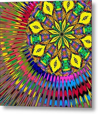 Metal Print featuring the digital art Sunshine Dreams by Alec Drake
