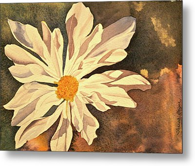 Metal Print featuring the painting Sunshine by Teresa Beyer