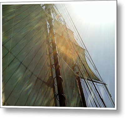 Sunstreaked Metal Print