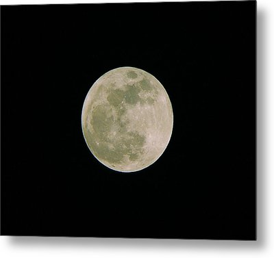 Metal Print featuring the photograph Super Moon May 5  2012 by Brian Wright