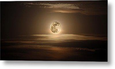 Super Moon Of 2012 Metal Print by Elizabeth Hart