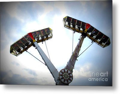 Superflyer Metal Print by Maria Scarfone