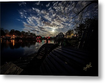 Supermoon Metal Print by Everet Regal