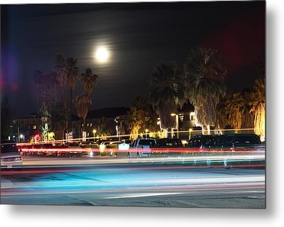 Metal Print featuring the photograph Supermoon I by Carolina Liechtenstein