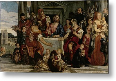 Supper At Emmaus Metal Print by Veronese